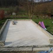 commencer par le plus desagéable... le beton!