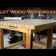 Etabli en bois de palette