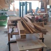 le tas de bois avant le débit