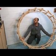 Comment faire un cercle autoportant de Leonard De Vinci