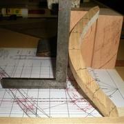 traçage des plans verticaux, dessus et dessous terminés