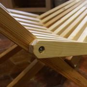 Fabrication d'une chaise pliante