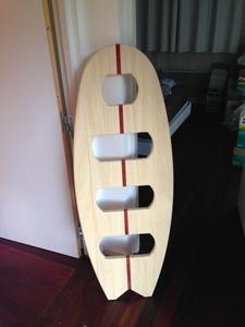 Planche de surf échelle