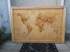 Cadre Carte du Monde