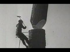 Abattage de séquoias de Californie dans les années 40