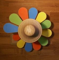 Comme un fleur aux pétales colorés