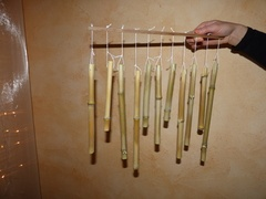 Carillon en bambou, par Pernelle
