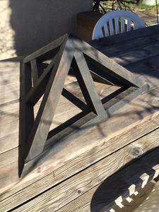 Pyramide bois