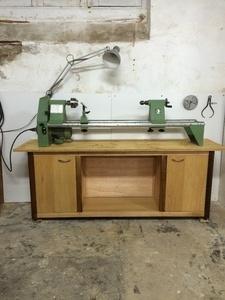 Un meuble pour mon tour à bois
