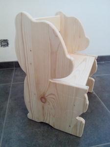 Chaise ours pour enfant
