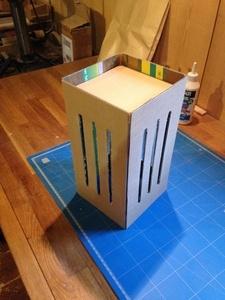 Fabrication d'un luminaire suspendu