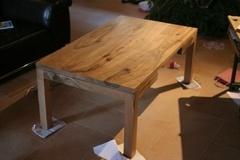 Table basse noyer