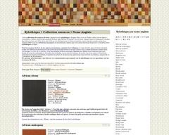 Xylothèque multilangues