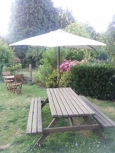 Restauration de quelques meubles de jardin