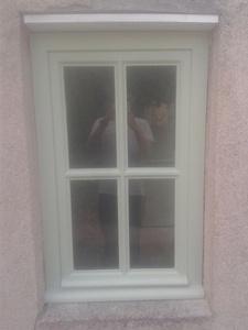 Fenêtre à croisillons