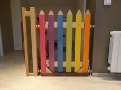 Barrière escalier crayon