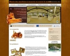Musée de miniature agricole en bois