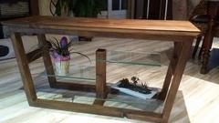 Meuble tv etagere verre