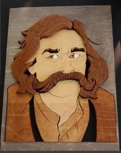 L'homme moustache