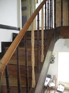 Barreaux d'escaliers éclectiques
