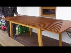 Un système d'allonge de table original