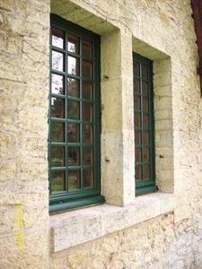 Fenêtre simple vitrage