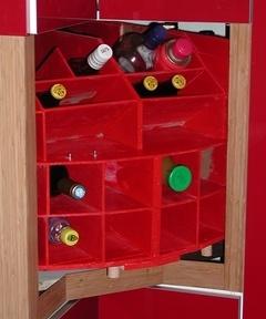 Manège à bouteilles