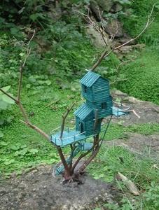 Rêve de cabane bleue