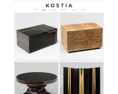 Kostia Constantin Laan - meubles d'art