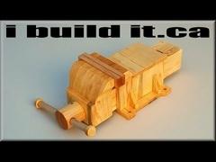 Fabrication d'un étau en bois