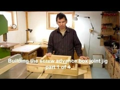 Building the box joint jig