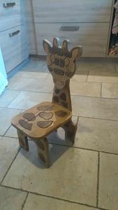 Chaise girafe pour enfant