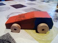Petite voiture toute simple