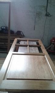 Porte intérieure - petits bois