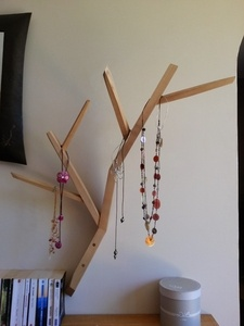Un arbre à colliers
