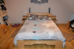 1ere réalisation, un lit