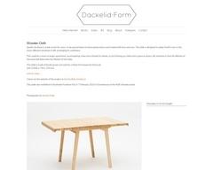 Table extensible à enrouleur