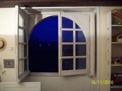Fenêtre cintrée