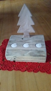 Bougeoirs pour Noël