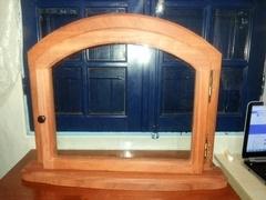 Petite porte vitrée