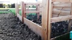 Composteur triple bac