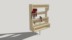 Rack serres-joint