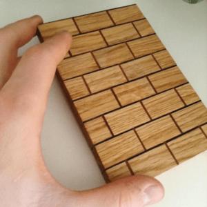 Un mur en bois...