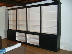 Bibliothèque en module de 2 ml