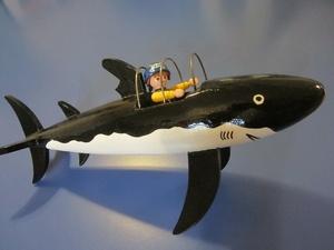 Le sous marin de Tintin pour playmobil