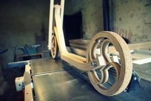 Trottinette en bois