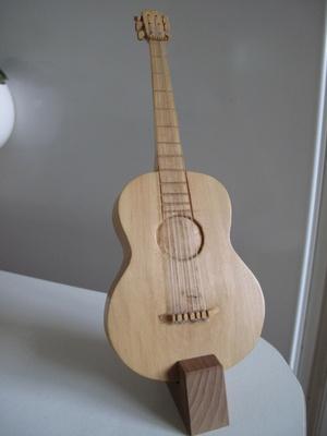 Guitare en buis