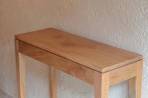 Console en bois de platane
