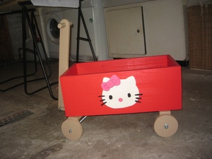 Charette Hello Kitty