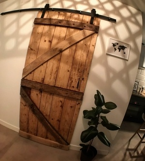 Porte coulissante - Recyclage